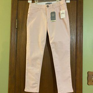 Wit & Wisdom NEW size 4 pale pink jeans/pants